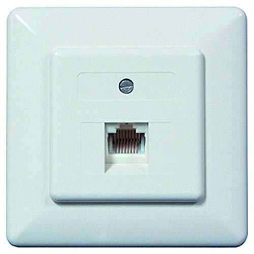 PROTEC.NET PUAE - Enchufe para Conectores RJ45 8(8) UP CW