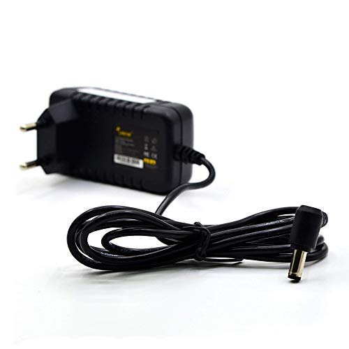LEICKE Cargador Universal ULL 9V 1A 9 Vatios | para Impresora de Etiquetas, Impresora, escáner, fax, Switch, routers, Pantallas LCD y TFT, RDSI, PED, CCTV, Tira de luz LED, Arduino UNO R3