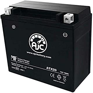 Arctic Cat Pantera 600 Snowmobile Replacement Battery (2002-2005) - This is an AJC Brand Replacement