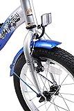 BIKESTAR Kinderfahrrad für Mädchen und Jungen ab 4-5 Jahre   16 Zoll Kinderrad Classic   Fahrrad für Kinder Silber & Blau   Risikofrei Testen - 7