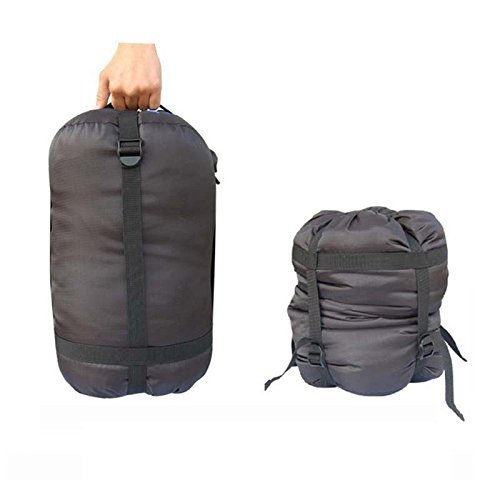 Yosoo Alpinisme Sac de couchage léger de compression militaire pour camping en plein air Noir (lot de 1)
