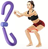 Schenkel-Master-Schenkel-Trimmer Thin Oberschenkel Toner Beintrainer Bodybuilding Expander, Exerciser for Home Gym Yoga Sport Abnehmen Trainings (Color : Purple)