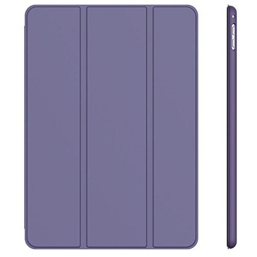 JETech Case for Apple iPad Pro 9.7-Inch (2016 Model), Smart Cover Auto Wake/Sleep, Purple