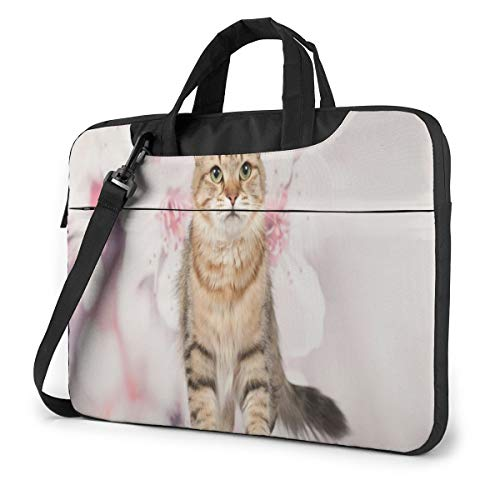 Siberian Cats and Kittens 13in Laptop Case Bag Sleeve Carrying Protective Case Messenger Briefcase Computer Bag for Women Men Travel