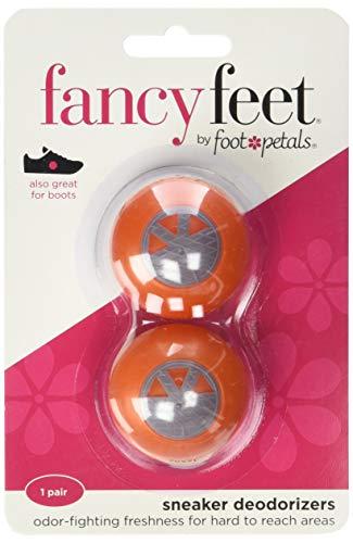 Foot Petals - Desodorante para zapatillas 1 Pr Unisex adulto , Anaranjado (Anaranjado), No Size M US