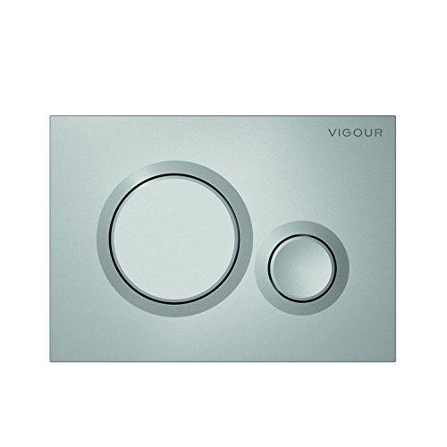 Vigour VIS Betätigungsplatte DON Drückerplatte für WC Vorwandelement Conel (seidematt)
