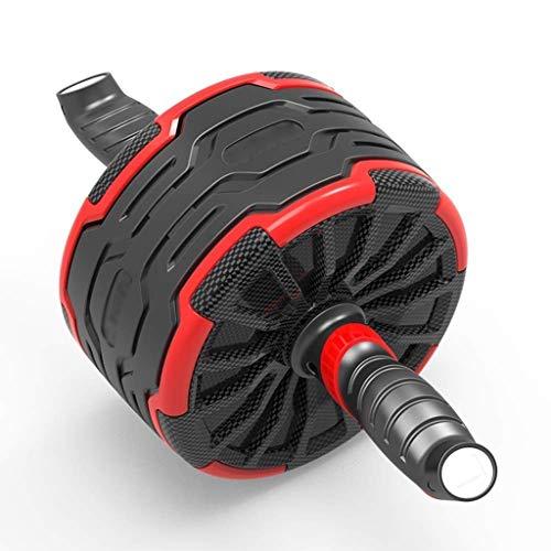 YDHWT Bauchmuskeln Wheel - Ab Roller Kinetic Laufrad - Kerntrainingsgeräte, Bauch-Workout-Maschine mit Knieschonern