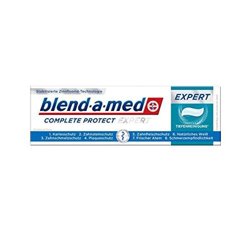 blend-a-med Complete Protect Expert Tiefenreinigung Zahnpasta Minze 75ml, 2er Pack (2x 75ml)