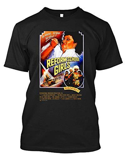 Reform School Girls Wendy Williams 1980s Drama Comedy T Shirt Gift Tee for Men Women Black