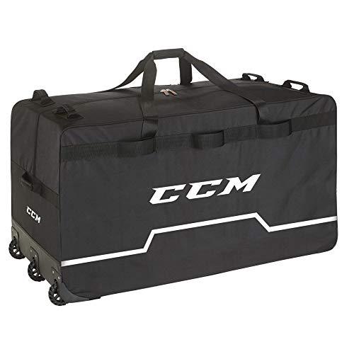 "CCM Hockey Pro Wheel Goalie Bag 44"", Black"
