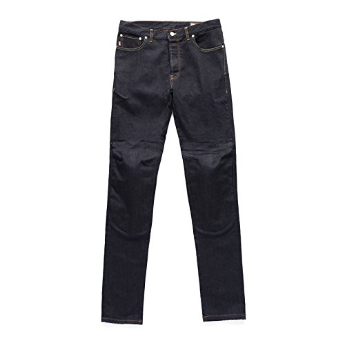Blauer USA Bleu Motor Cycle Pantalon pour homme, gris, taille 34