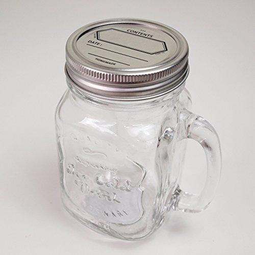 DULTON Glass Jar With Handle