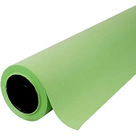 """Light Green Kraft Paper Roll   48"""" x 200' (2,400"""")   Best Colored Paper for Art & Crafts, Bulletin Boards, Gift Wrapping, Table Runner, and Decorations"""