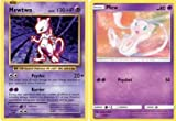 Pokemon!! Mewtwo and MEW!! (All Rare) 20 Card Lot