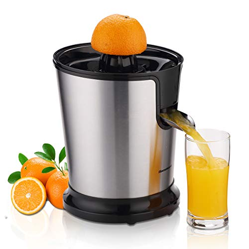Homeleader Citrus Juicer, Stainless Steel Juice Squeezer, Electric Orange Juicer...