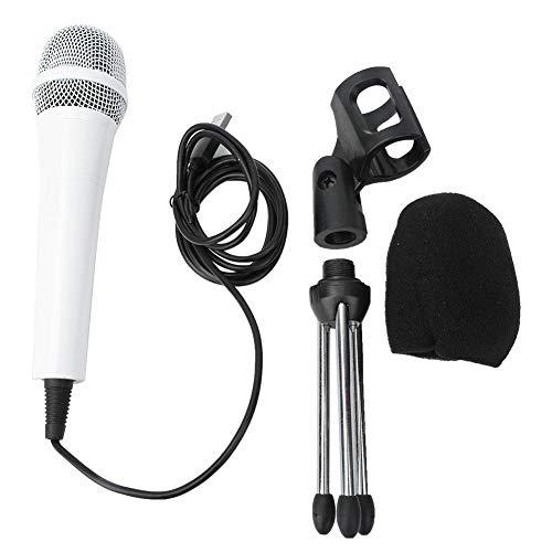 Directionele condensator met cardioïde, professionele multifunctionele USB-desktopmicrofoon met schokdemperbeugel en bevestigingsklemset, metalen condensator-pickup-microfoon