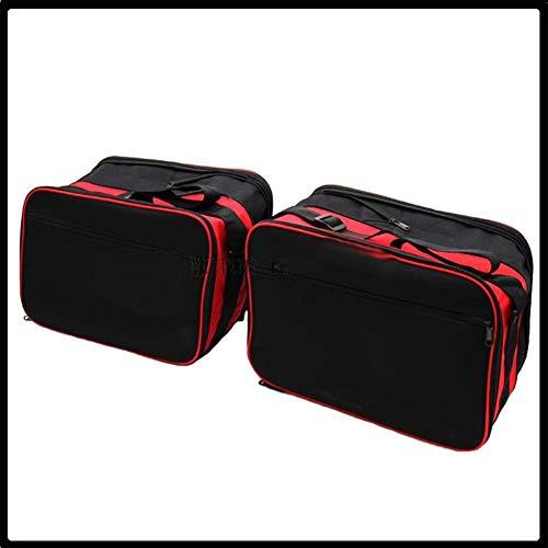 Motorradabdeckung und Zierleisten, 2 x hochwertige Gepäckträger-Innentaschen, erweiterbare Tasche, passend für BMW K1200GT K1300GT K1600GT K 1200/1300/1600 GT Motorradzubehör (Farbe: 1 Paar)
