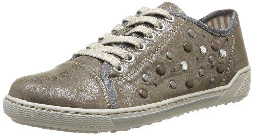 Rieker Damen 42427 Sneaker, Silber (Altsilber / 90), 38 EU