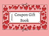 Coupon Gift Book: 50 Color Blank Voucher Templates to Fill In Yourself : Any Occasion Personalized Gift Idea For Him & Her : Black & Red