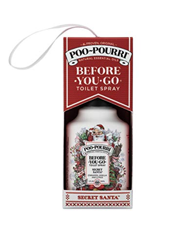 Poo-Pourri Before-You-go Toilet Spray, Secret Santa Ornament Scent, 2 Fl Oz