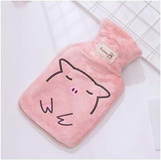 Warmwaterkruik, cadeauset, hals, taille, benen, buik, verjaardag, beste cadeaus voor geliefden, ouders en kinderen, roze P...