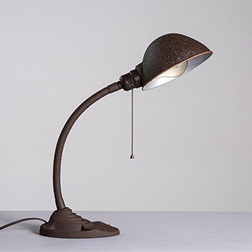 CKH industriële stijl bureaulamp Bedside dest lamp ijzer Amerikaanse stijl oude bureau lezen tafellamp trekken schakelaar