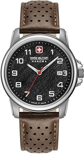 Swiss Military Hanowa Reloj Analógico para Unisex Adultos de Cuarzo con Correa en Acero Inoxidable 06-4231.7.04.007
