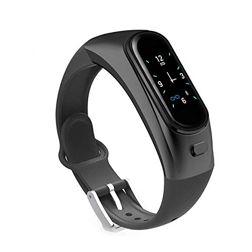 Sportuhr, Smartwatch, Bluetooth-Headset 2-in-1, Fitness-Tracker, Schrittzähleruhr für Fitness-Tracker, Schlafmonitor als Schrittzähler