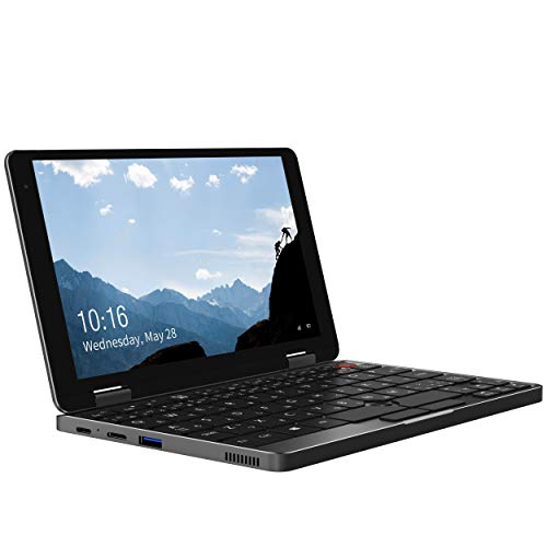 CHUWI MiniBook 8インチ ノートパソコン 日本語キーボード Windows 10 home Core m3-8100Y 16GB RAM 512GB ROM 360度YOGAモード 指紋認証センサー 超小型ノートPC (MiniBook-8100Y)
