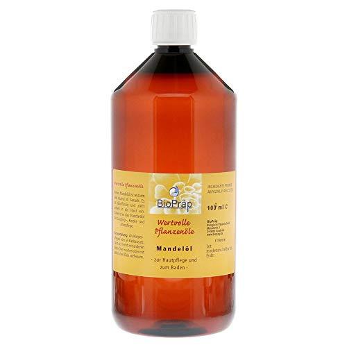 Mandelöl zur Körperpflege und als Badezusatz, 1000 ml