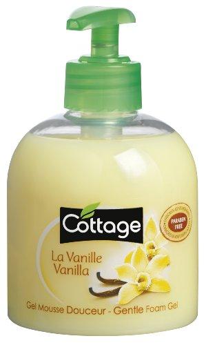 Cottage - Gel Mousse Douceur - La Vanille - 300 ml - Lot de 3
