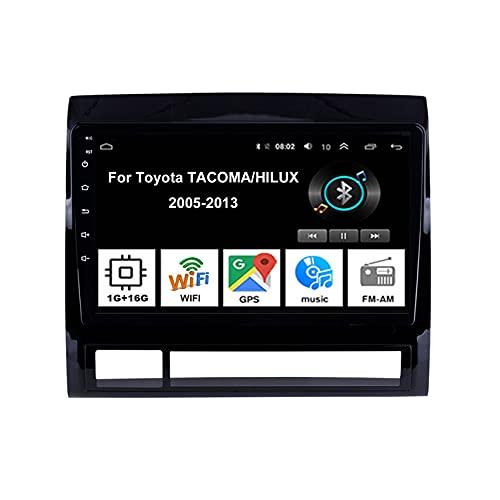Android 10 9 Inch Pantalla Tactil Para Coche Reproductor Car Stereo Para Toyota TACOMA/HILUX 2005-2013 Radio Del Coche Car Player Conecta Y Reproduce Coche Audio USB Mirror Link