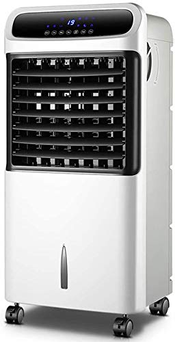Mopoq Bajo Consumo de Pequeño Acondicionado del Aire del Ventilador silencioso con Control Remoto y Temporizador