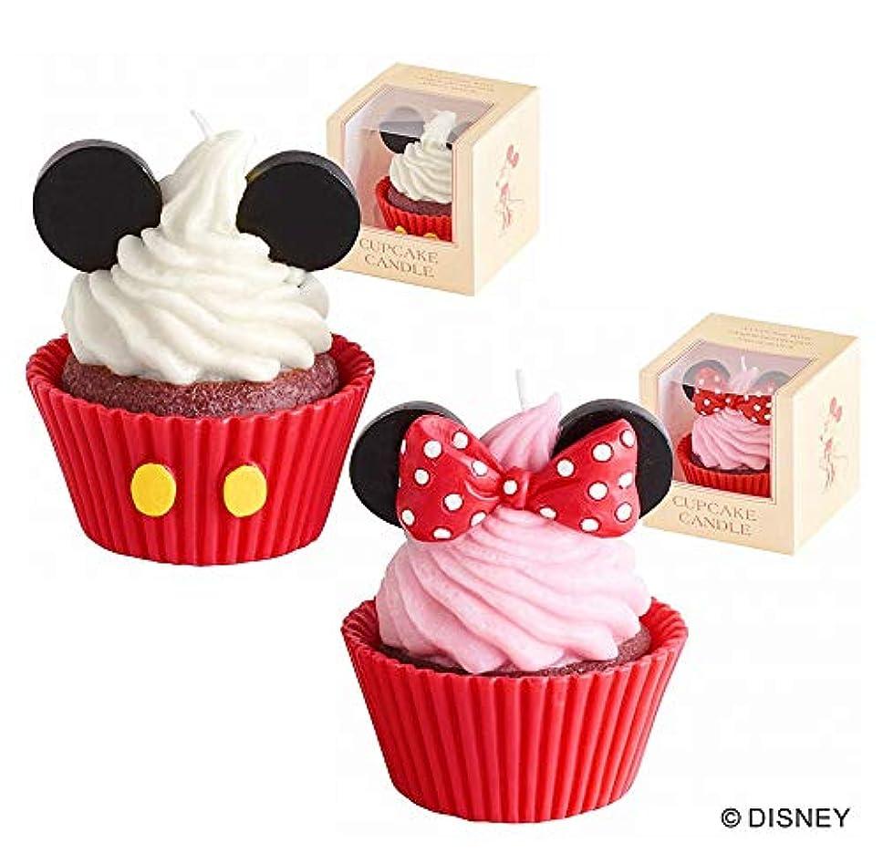 カメヤマキャンドル(kameyama candle) ディズニーカップケーキキャンドル 「ミッキー&ミニー」
