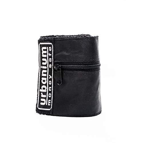 Urbanium Moneysafe Doppelpack (2 Stück) - Geldbeutel zur Befestigung am Hand- oder Fußgelenk