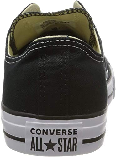 CONVERSE Chuck Taylor All Star Seasonal Ox, Unisex-Erwachsene Sneakers, Schwarz (Black), 41 EU