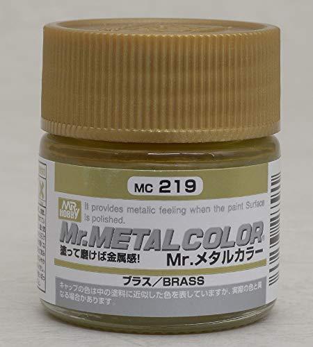 クレオス・Mrメタルカラー・MC-219 ブラス