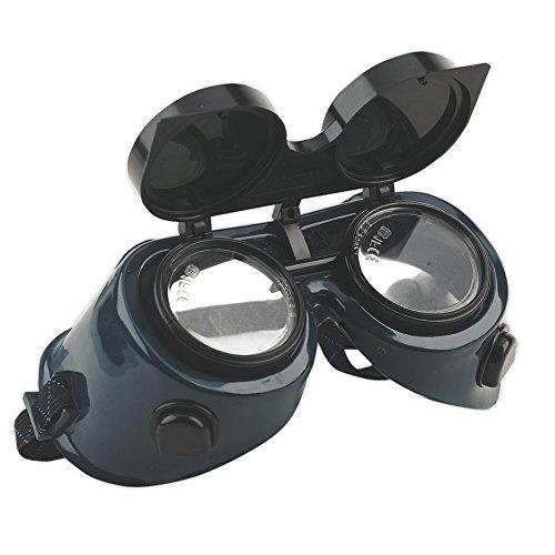 Sealey Occhiali a maschera per saldatori con lenti ribaltabili - Blue