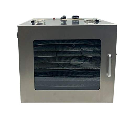 Learn More About Lfhelper Food Dehydrator Machine, 201 Stainless Steel, 10 Chrome-Plated Steel Mesh ...