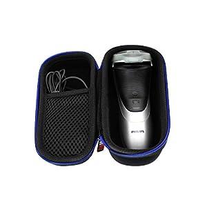 para Philips AT620/14 Power Touch PT860/16/ S3110/06 Afeitadora eléctrica Duro Viaje Estuche Bolso Funda por GUBEE