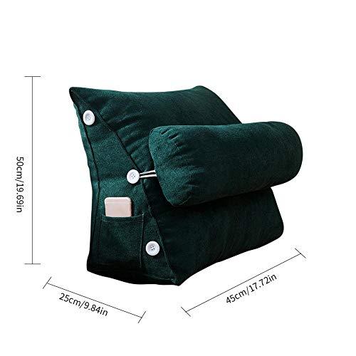 Cuscino con zeppa Cuscino per schienale Cuscino triangolare Cuscini ad angolo Cuscino flessibile Cuscino di lettura regolabile Divano letto Sedia da ufficio Cuscino di riposo