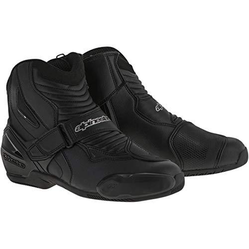 Botas para motocicleta de color negro