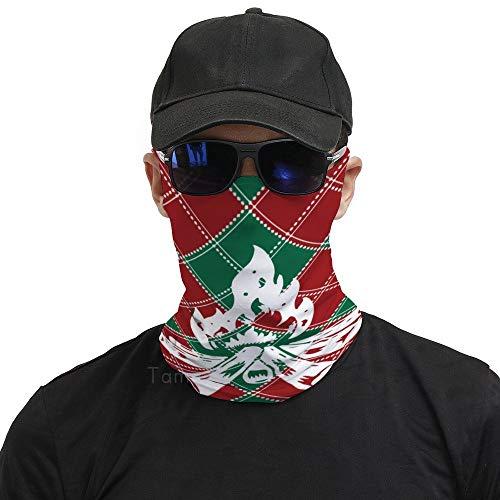 Tamengi Foulard pour le visage en bois de chauffage à carreaux de Buffalo Protection UV à suspendre Oreille Bandana Cagoule Multifonctionnel