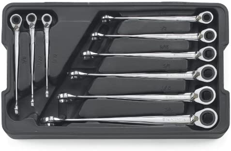 GEARWRENCH 9 Pc. 12 Pt. Ratcheting Combinat Save money mart Reversible X-Beam XL