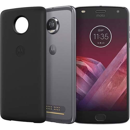 "Smartphone, Motorola, Moto Z2 Play Power Edition, XT1710-07, 64 GB, 5.5"", Platinum"