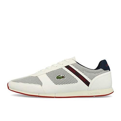 Lacoste Mens 739CMA0015042_44,5 Sneaker, White, 44.5 EU