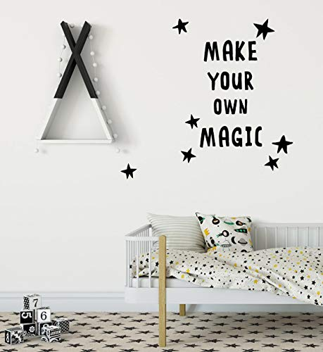 Maak uw eigen Magic Wall Decal kinderkamer stickers moderne kinderkamer decor citaten Wall Decal afneembare kinderkamer stickers baby Kids Room Decor