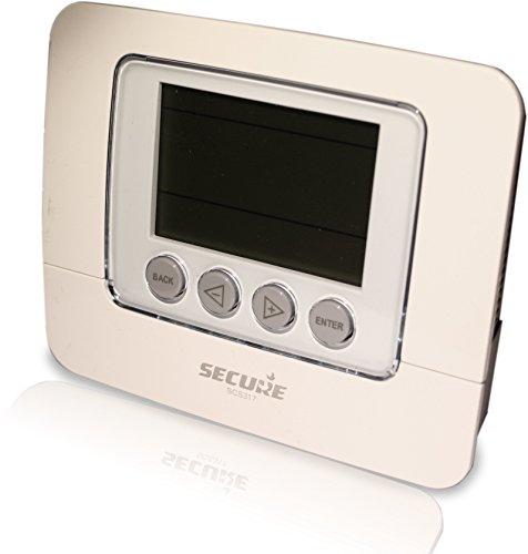 Secure SEC_SCS317 Z-Wave Gris termoestato - Termostato (Z-Wave, Gris, LED)