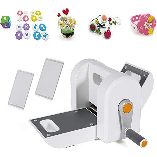 TFCFL Máquina de troquelado manual y troquelado, máquina de troquelado, máquina de troquelado, adecuada para cortar y grabar para scrapbooking, decoración, niños