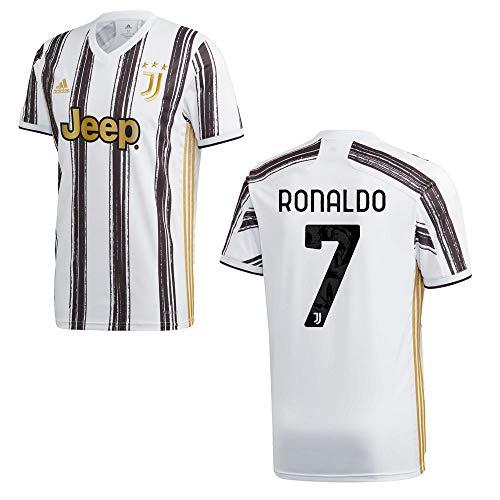 adidas Juventus Turin Trikot Home Kinder 2021 - Ronaldo 7, Größe:164